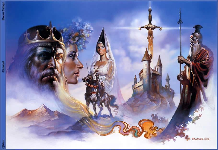 Король Артур - миф и фантастика