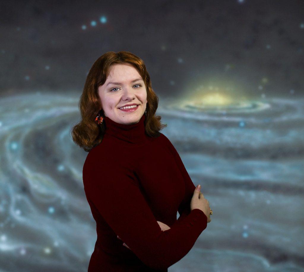 Космический журналист Виктория Колесниченко