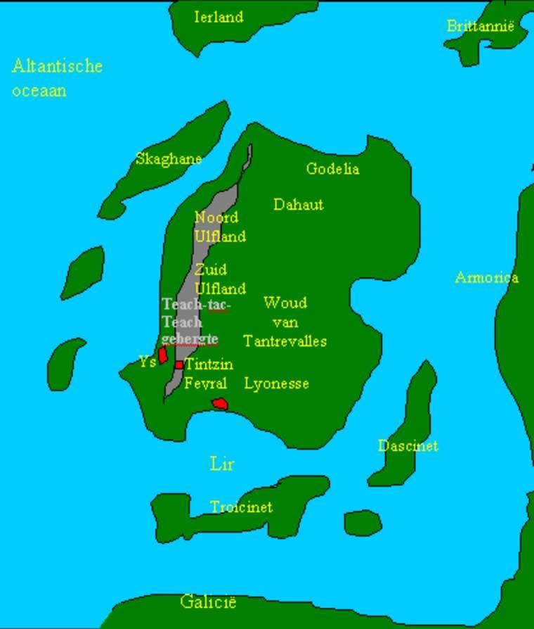 Лайонесс - легендарная территория